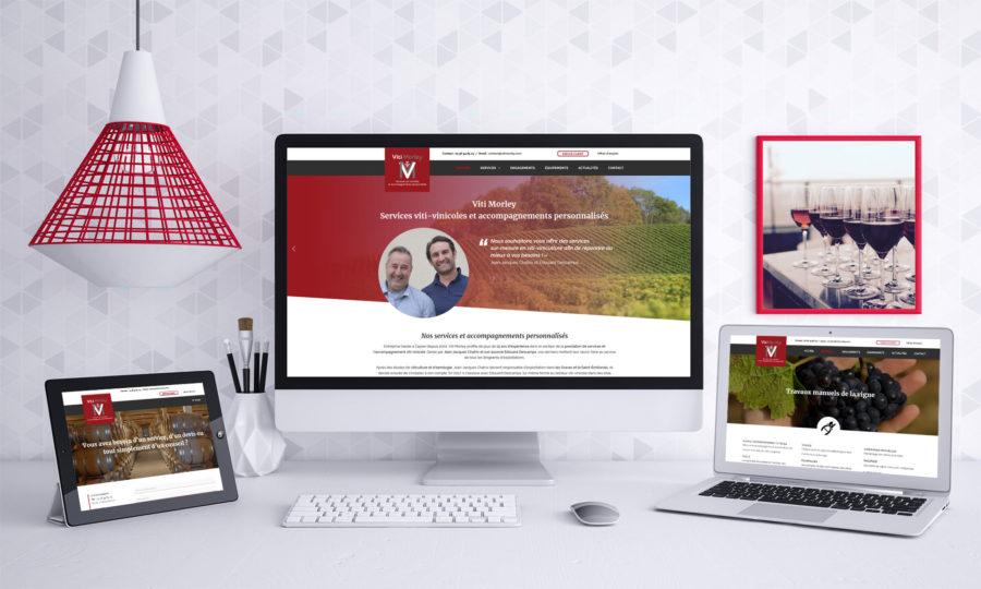 Mise en ligne de notre site internet